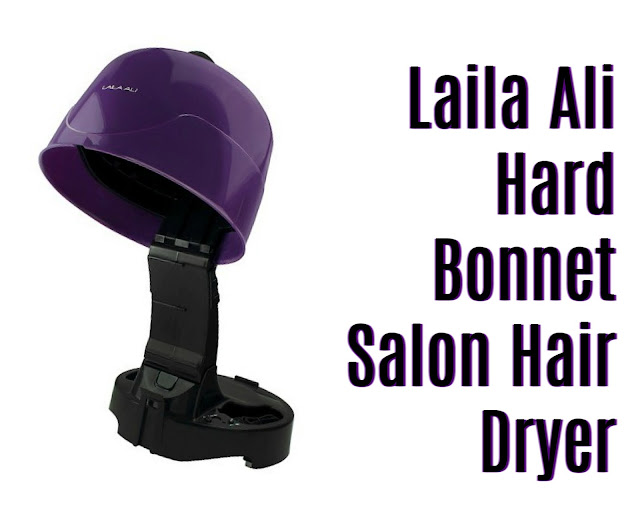 Click here to buy the Laila Ali Hard Bonnet Salon Hair Dryer, one of the best hard hooded hair dryers for natural hair