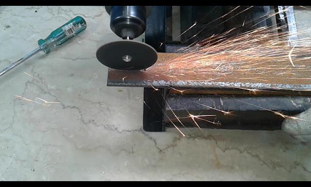Membuat Cutting Wheel Mini