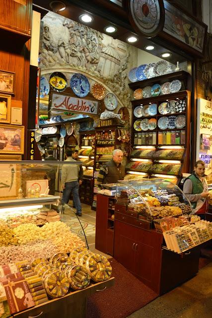 Egyptian Market Istanbul Ceramic