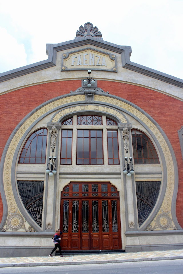 The Faenza theatre in Bogota, Colombia