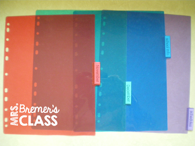 Classroom Hack for Teachers: Make DIY highlighting cards to use in your pocket chart!