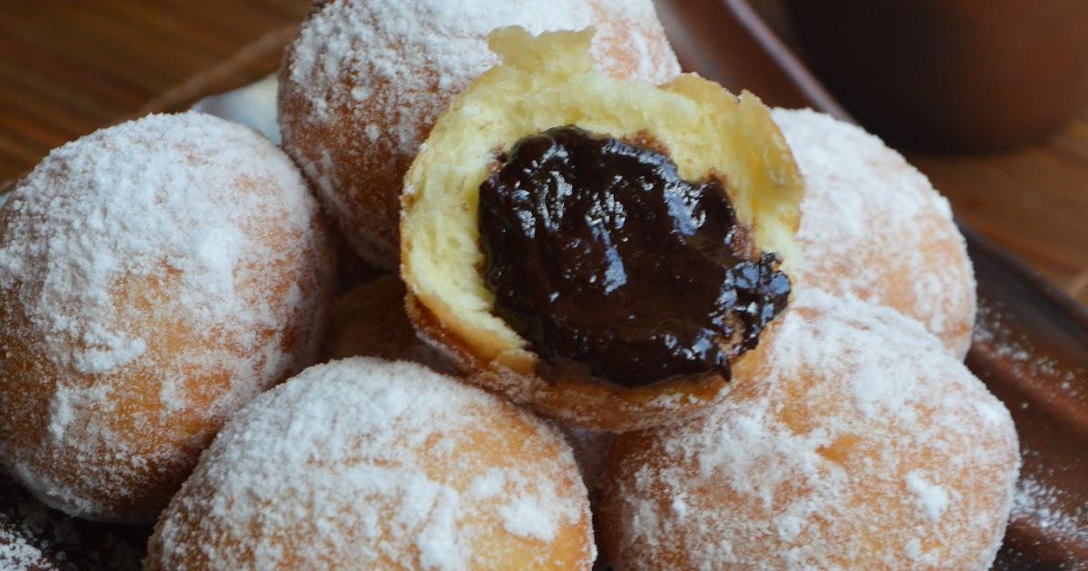 Diah Didi's Kitchen: Donat Kentang Isi Coklat