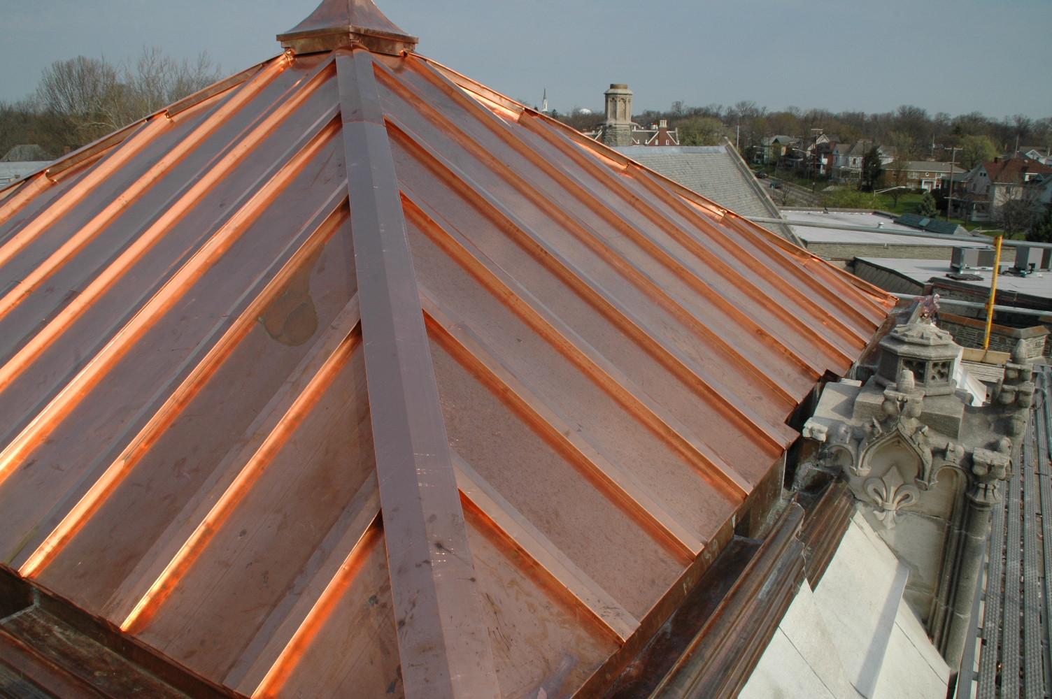 Standing Seam Metal Roof Texture