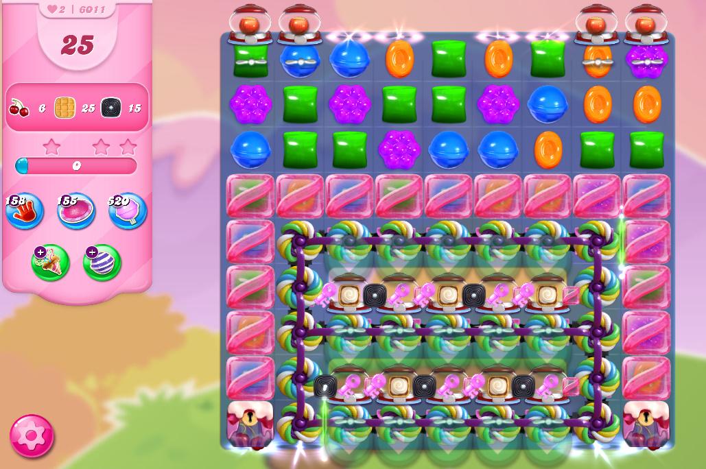 Candy Crush Saga level 6011