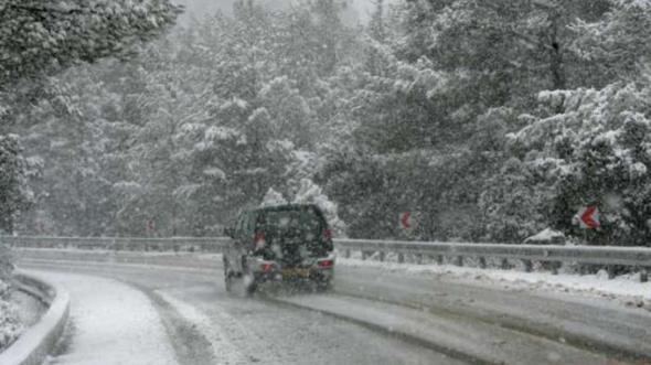 Παγετός και χιονοπτώσεις στην Αλεξανδρούπολη
