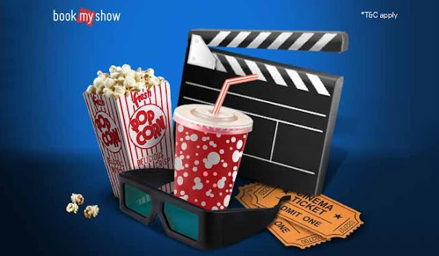 Get 50% instant discount on Movie Ticket Booking On BookMyShow