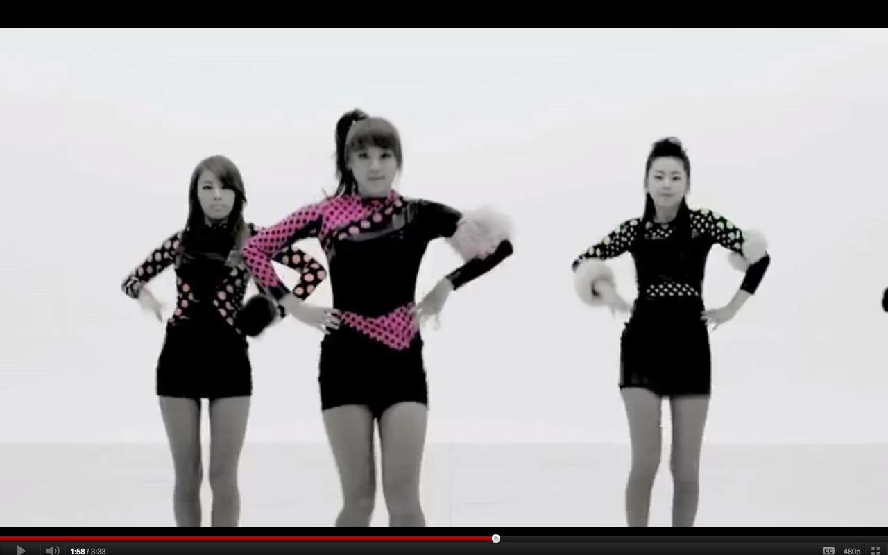 Wonder Girls Mv Spam