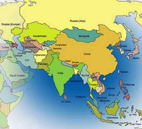 Tentang benua asia