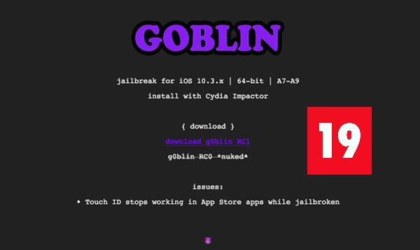 Jailbreak iOS 10 3 3 on 64-bit devices Using G0blin Jailbreak