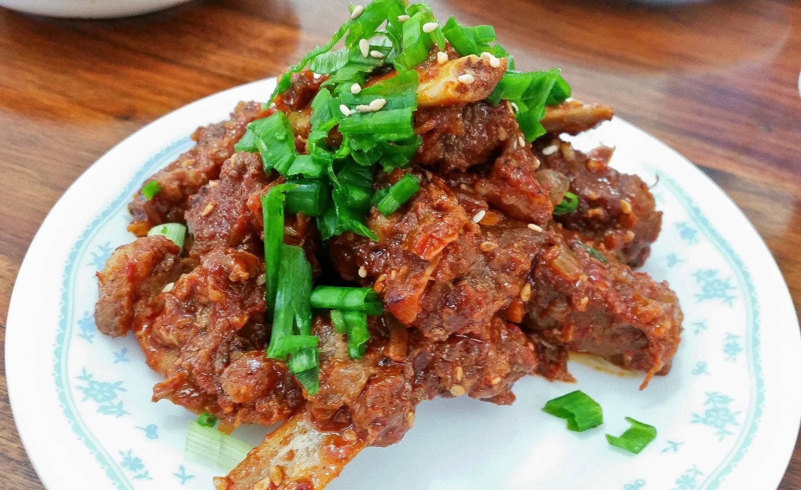 Galbi Fried Pork