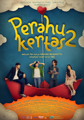 Poster Film Perahu Kertas 2