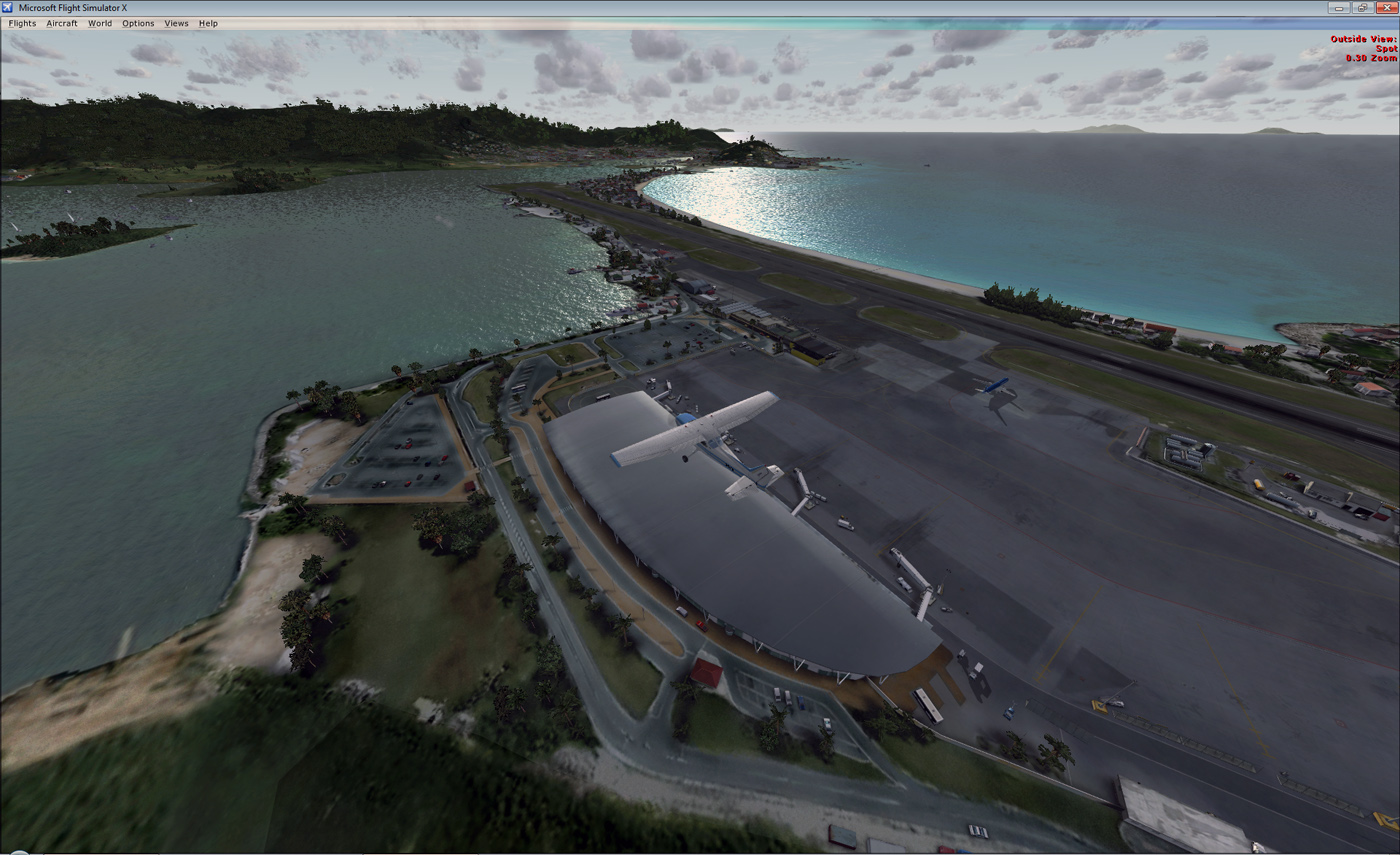Download Fly Tampa St Marteen Airport (TNCM) For FSX Free