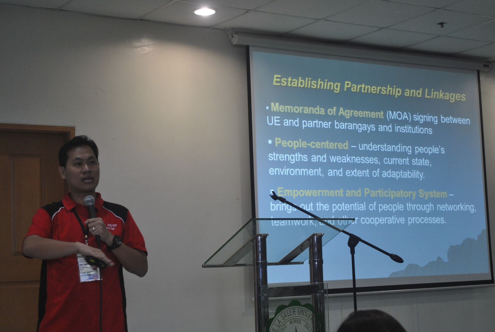 nstp experience What have you learned from the drrm seminarxworkshopxtrainingxpracticals(meaning of concepts: disaster, hazards, disaster risk reduction formula, capacities, vulnerabilities, philippine disaster situation facts, risk reduction, participatory management of disasters or bibingka approach, disaster resilience,bamboo as a symbol of disaster.