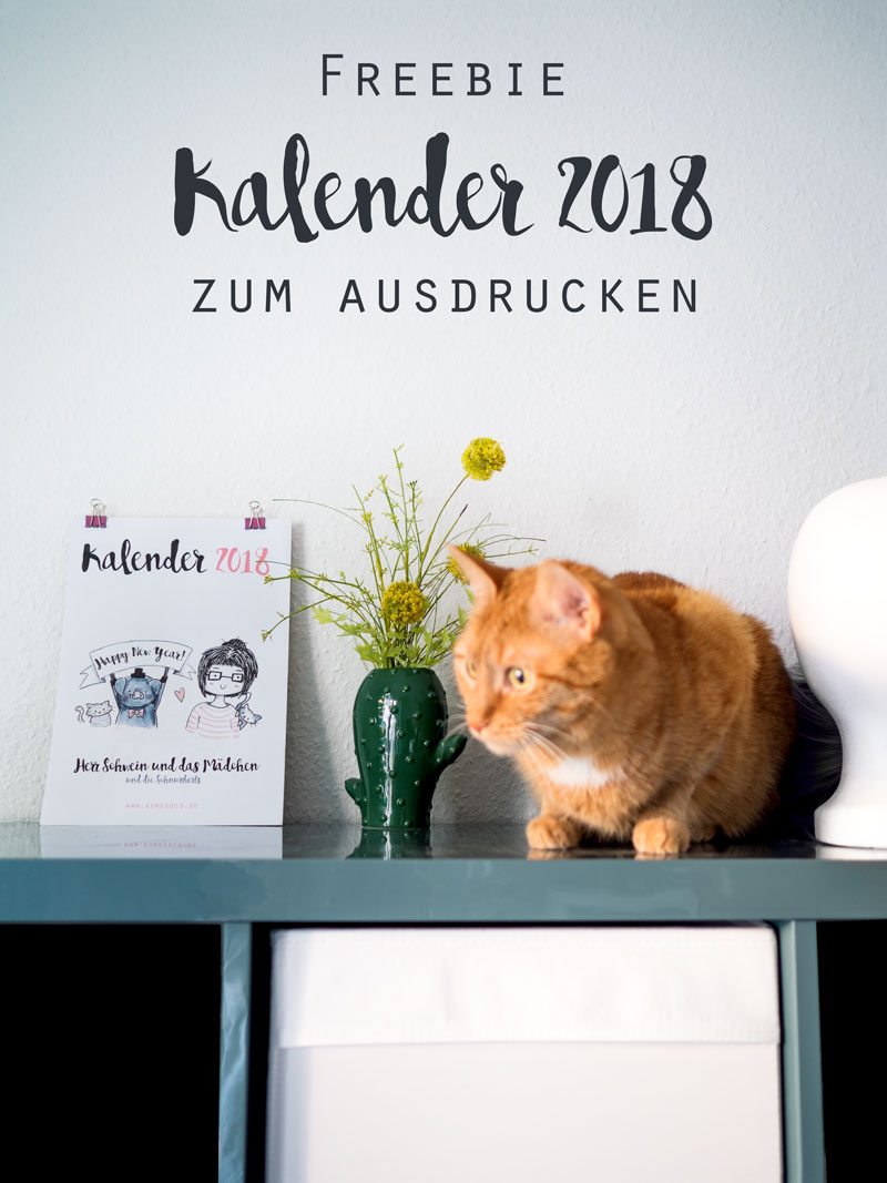 Kalender 2018 zum Ausdrucken