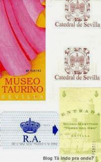 entradas de atrações em Sevilla