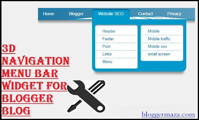 -add-3d-navigation-menu-bar-gadget-for-blogger