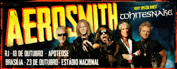 Ripando A História Do Rock Aerosmith E Whitesnake No