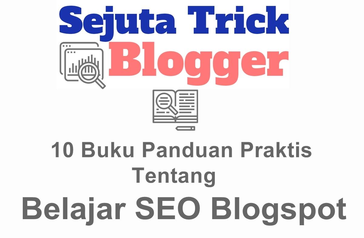 Buku Belajar SEO Blogspot