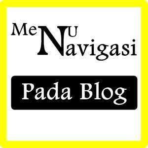 Cara Membuat Menu Navigasi Sitemap, About, Contact, Privacy Policy, Disclaimer pada Blog 100% Mudah.