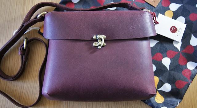 Yoshi Whittle Fig Leather Shoulder Bag