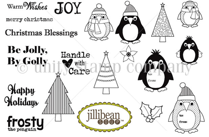 Whirlwind: New Unity Stamp Co Jillibean Soup stamps!