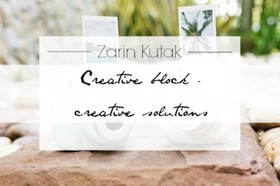 Creative block - creative solutions