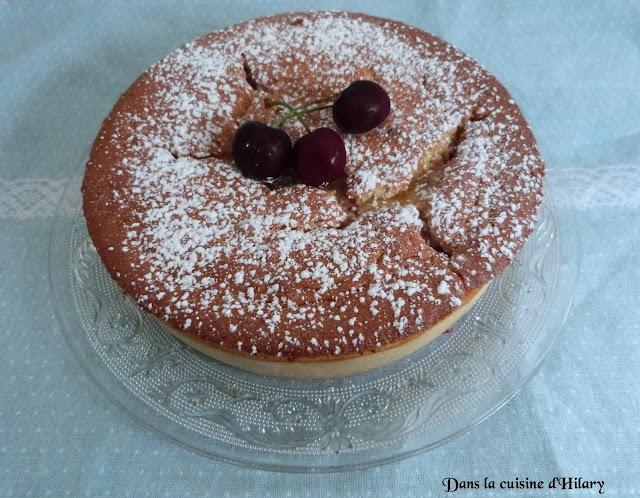 Gâteau magique aux cerises