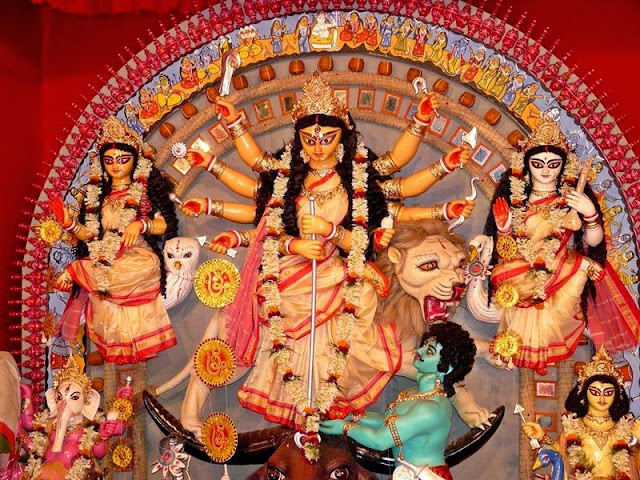 Durga Puja Wallpapers 2017 Download | Dussehra Wallpapers HD Download