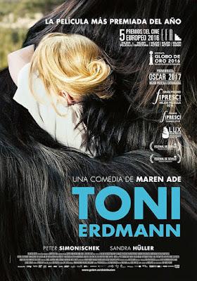 Cartel oficial español: Toni Erdmann (2016)