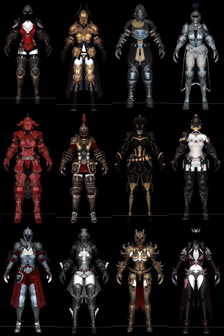 Bless Armors Pack Retouched [CBBE/CBS/HDT Cloth] ~ Eskyrim