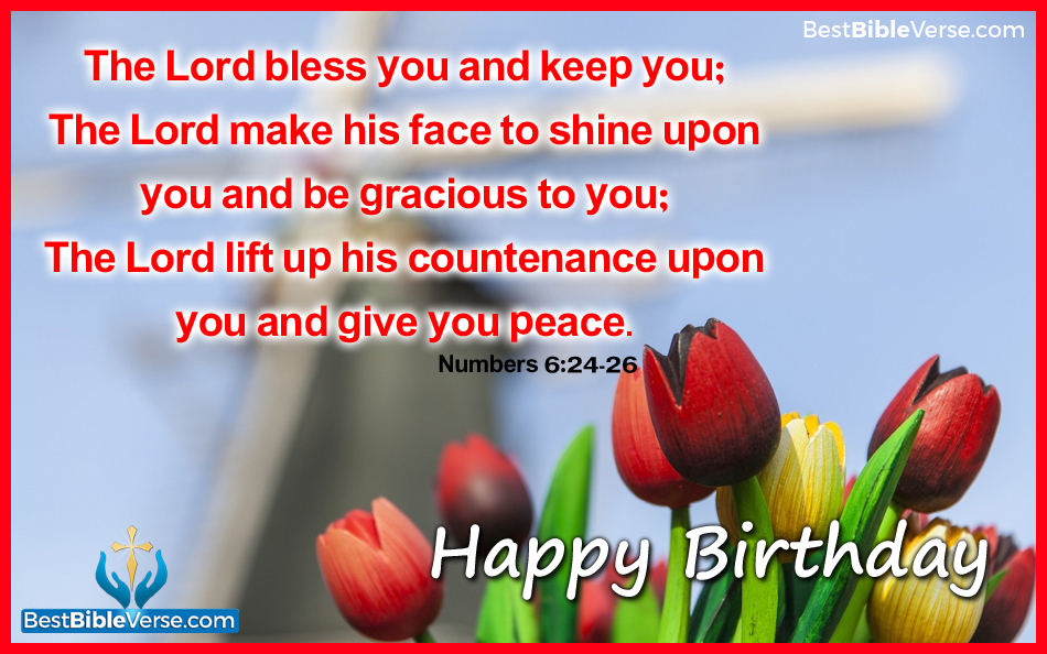 7 Replies To Best Bible Verses For Birthday Cards
