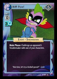 My Little Pony Biff! Pow! Canterlot Nights CCG Card