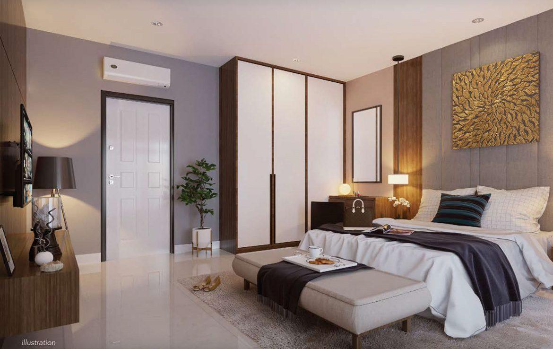 Desain Interior Kamar Tidur Ukuran 3x3  Desain Rumah