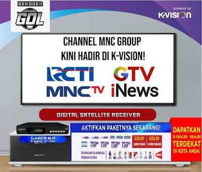 Daftar Chanel Gol Garmedia FTA dan FTV Satelit Measat 3a 2020