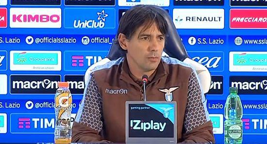 """Sampdoria Lazio, INZAGHI: """"Abbiamo fatto la miglior partita stagionale. Vittoria meritata""""."""