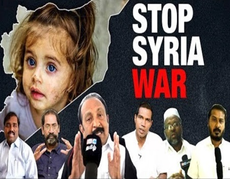Tamil Nadu Political Leaders support for SYRIA | Justice For Syria