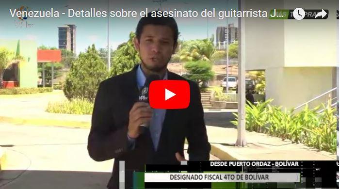 Mataron al músico José Luis Lara para robarle el carro en Ciudad Bolívar