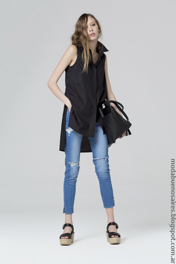 Maxicamisas primavera verano 2017 ropa de moda 2017.