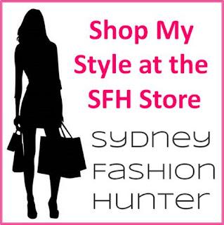 Sydney Fashion Hunter - SFH Store Button
