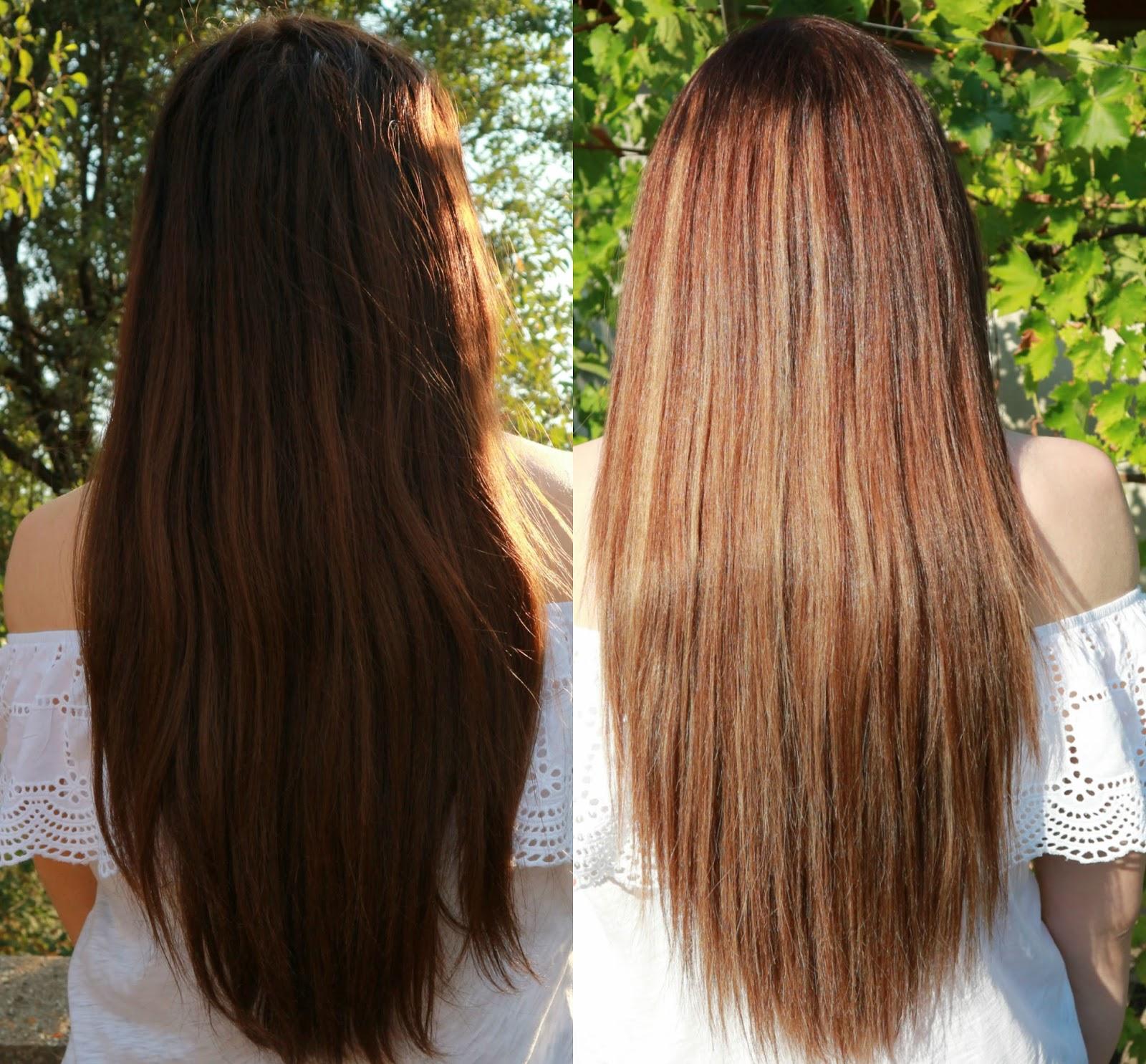 Braune Haare Blonde Strähnen Bilder Jolie