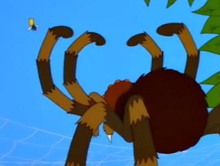 Araña vs Bart