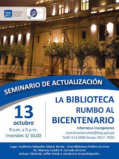 """La Biblioteca Rumbo al Bicentenario"""""""