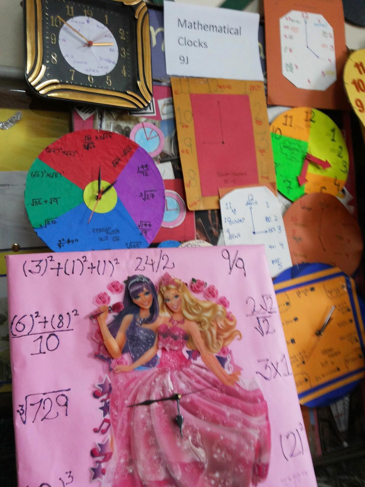 Maths Exhibition Models For Class 10 Cbse