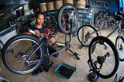 modif Sepeda Biasa Jadi Sepeda Drag