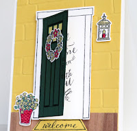 Stampin' Up! At Home With You card ~ www.juliedavison.comv