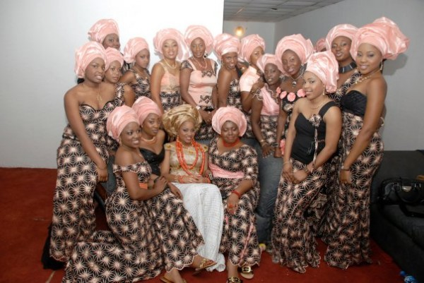 Wedding Fashion with Aso Ebi in Nigeria