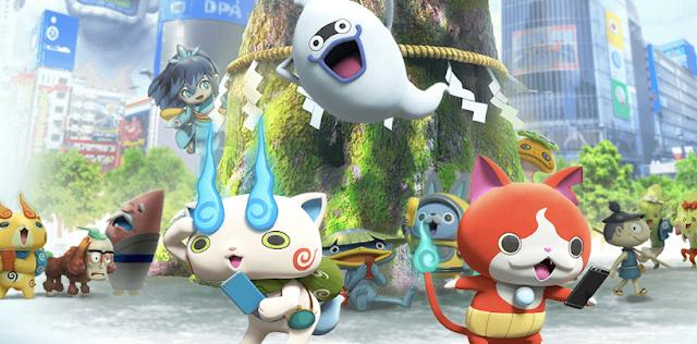 Llega el Pokémon GO de Yo-Kai Watch, Yo-Kai Watch World