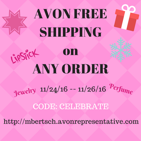 Avon Free Shipping Black Friday 2016