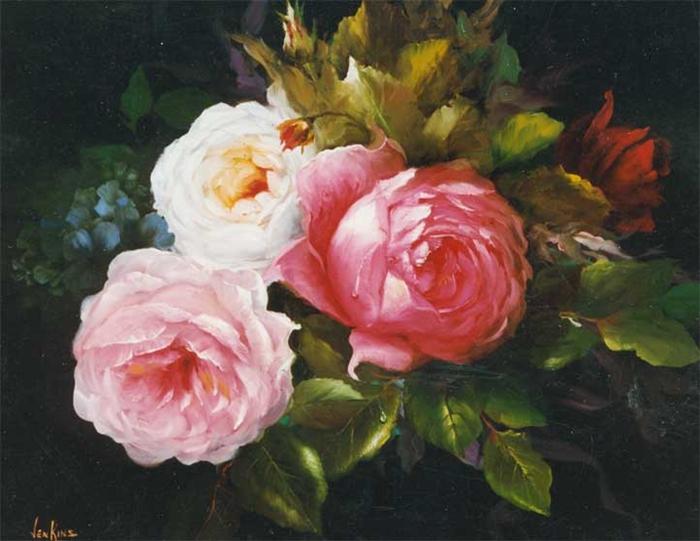 Цветочные картины. Gary Jenkins 17