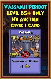 Vassanji - Wizard101 Card-Giving Jewel Guide